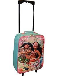 "Disney Moana 15"" Collapsible Wheeled Pilot Case - Rolling Luggage"