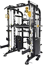ALTAS Strength M810 Multi Function Trainer Smith Machine Light Commercial Equipment 440IB Weight Stack Fitness