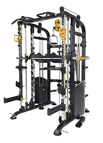 ALTAS Strength M810 Multi Function Trainer Smith Machine Light Commercial Equipment 440IB Weight Stack Fitness Equipment Exercise