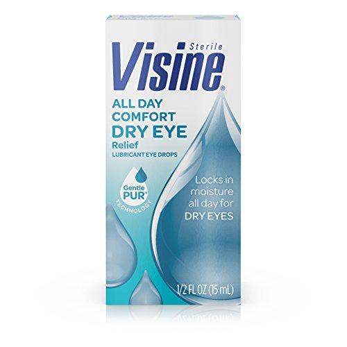 Visine All Day Comfort Dry Eye Relief Lubricant Eye Drops, .5 Fl. Oz
