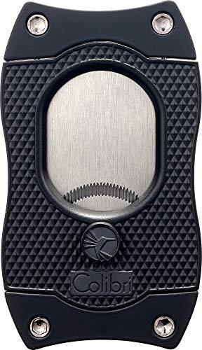 Colibri Monza S-Cut Cigar Cutter - Black/Black