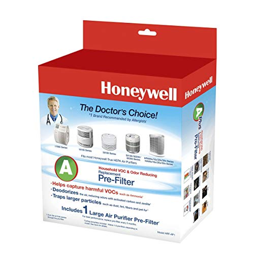 Honeywell C-6005, 38002 Enviracare Universal Replacement Pre-Filter