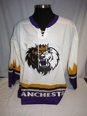 Manchester Monarchs AHL Game Issued White Blank SP Hockey Jersey LA Kings (Ahl Hockey Jerseys)
