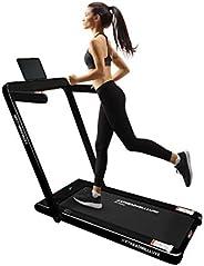 XTREADMILLLUXE Foldable Treadmills for Home Folding Under Desk Electric Treadmill Run,Walk Foldable 2.5HP Inst