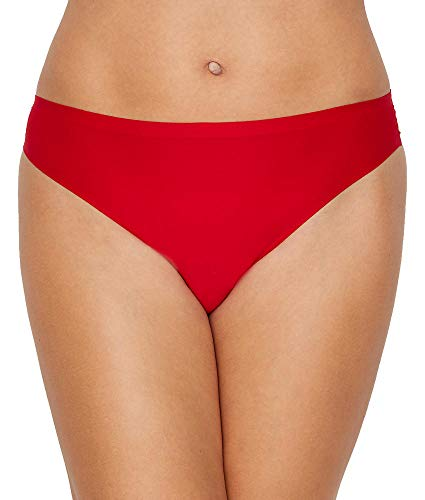 Chantelle Soft Stretch Thong, One Size, Poppy Red ()