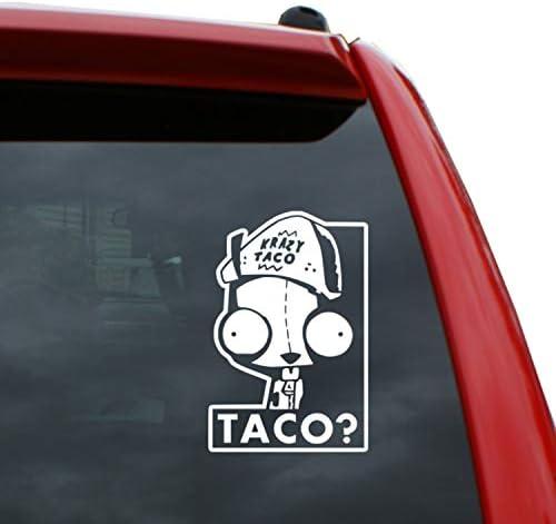 Decal Vinyl Truck Car Laptop Sticker Invader Zim Gir Gaz