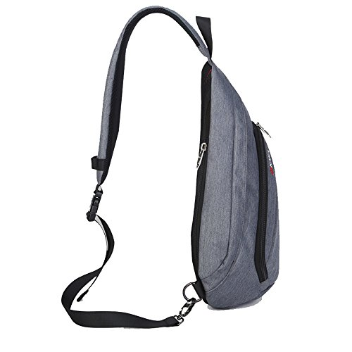 Bike Women For Pack Satchel Casual Fanny Daypack Cycling Chest Crossbody Sling Rucksack Canvas High Grey Gym Travel Men Bag Unbalance Outdoor Backpack Quality RqdvwSTnT
