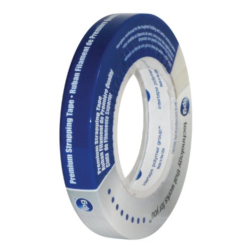 Intertape Polymer Group 9715 Reinforced Strapping Tape  0 70 Inch X 60 1 Yard
