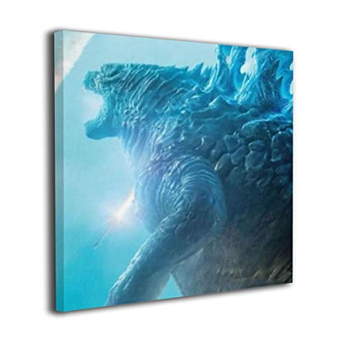Little Monster Godzilla 2 King of The Monsters 2019 Framed and Stretched Oil Paintings On Canvas Wall Decor Modern Artwork Art for Boys and Girls Bedroom 12