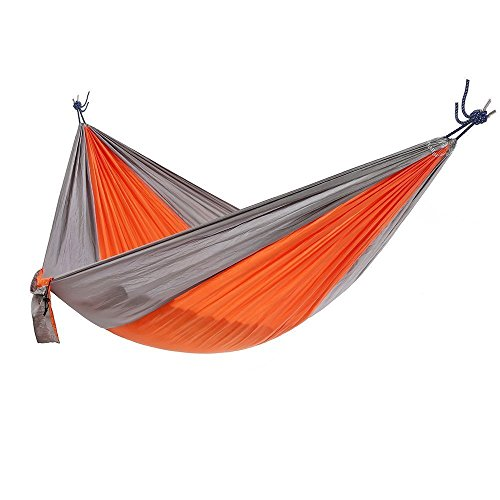 Ohuhu Portable Nylon Fabric Travel Camping Hammock, 115