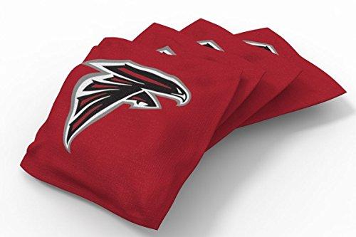 PROLINE 6x6 NFL Atlanta Falcons Cornhole Bean Bags - Solid Design (A)