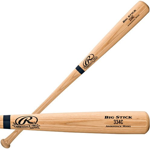 Rawlings 334C Big Stick Baseball Bat (33-Inch/33-Ounce) (Natural Rawlings Big Stick)