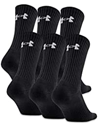 Men's Charged Cotton 2.0 Crew Socks, 6-Pair