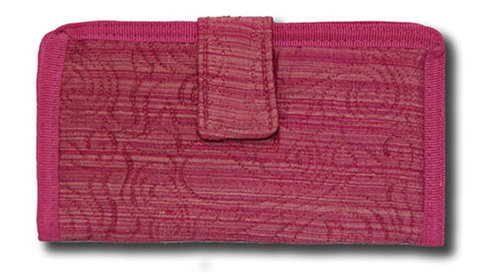 Quilt Checkbook Cover (Donna Sharp Quilt Raspberry Ice Check Book Cover 52774)