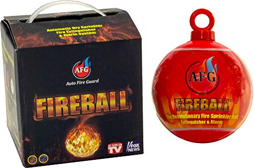 AFG Fireball | Automatic Self Activation Exploding Fire Extinguishing Balls | Mini Fire Suppression Device