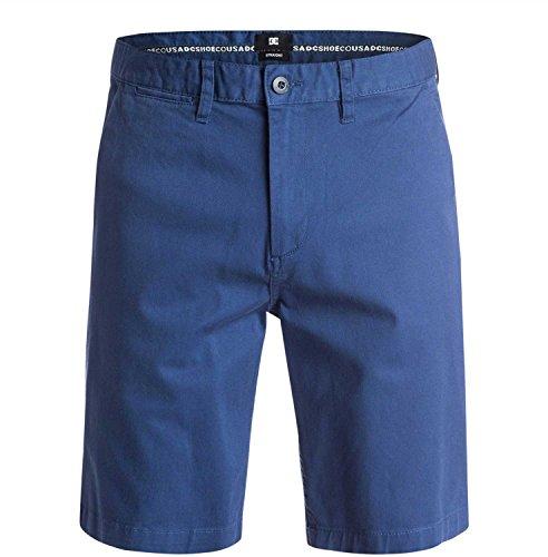 DC Mens 2016 Worker Straight 20.5 Walkshort 30 Vintage Indigo