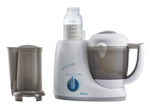 BEABA Babycook Original Plus 6 in 1 Steam Cooker, Blender, and Bottle Warmer, 3.5 cups, Dishwasher Safe, Peacock by Beaba (Image #2)