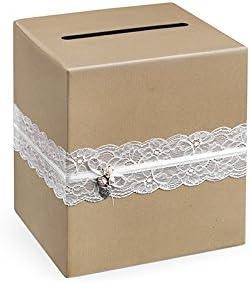 Caja de dinero para tarjetas de boda, caja de regalo, accesorio de ...
