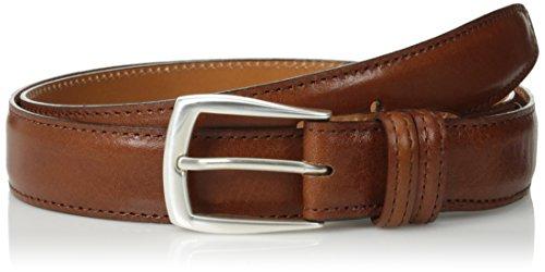 Trafalgar Men's Italian Calf Belt,Cognac,44 (Calfskin Belt)