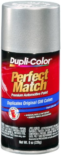 Dupli-Color BGM0530 Light Tarnished Silver Metallic General Motors Exact-Match Automotive Paint - 8 oz. Aerosol
