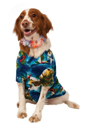 Dog Hula Costume (Rubie's Luau Pet Costume, Extra Large)
