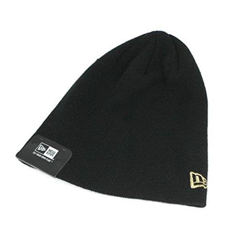(ニューエラ) NEW ERA ニット帽 ベーシック ビーニー ブラック FREE