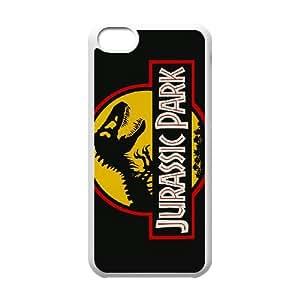 iPhone 5c Cell Phone Case White Jurassic park Q6862973