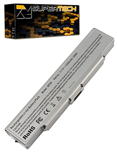 Click to buy Battery Sony VAIO VGN-AR770ND - 6 Cell, 4400mah (Silver) - From only $50.95