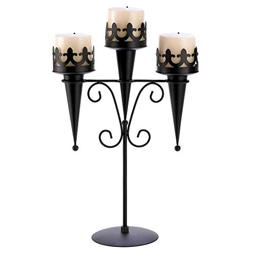 Gifts & Decor 57070313 Medieval Candle Stand,