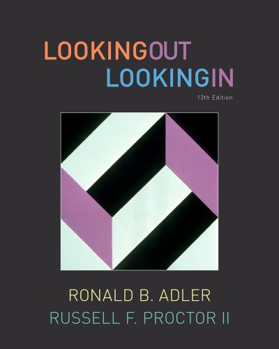 Looking Out, Looking In (Available Titles CourseMate) Pdf