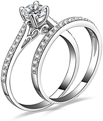 SEniutarm Engagement Love Rings Wedding Bands 1Pc Fashion Titanium Steel Lover Ring Golden Plated Couple Ring for Men Women for Women//Girl Finger Rings DIY Jewelry Gifts