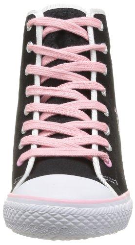 Elle Calypso Damen Sneaker Schwarz - Noir (Noir Rose)
