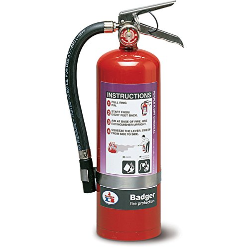 Badger Purple K Fire Extinguishers 2.5# Pk W/Vehicle Brkt
