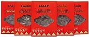 CACEP  Café cubierto de chocolate con leche 38% Cacao   5 Pack de 30g c/u   100% Mexicano   Snack delicioso  