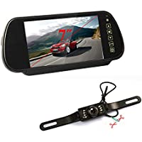 7 LED Front and Rear View Camera Reversing Double To Switch Upgrade Section DVD + 7 Inch In Car Monitor / Rear View Mirror TFT LCD Screen