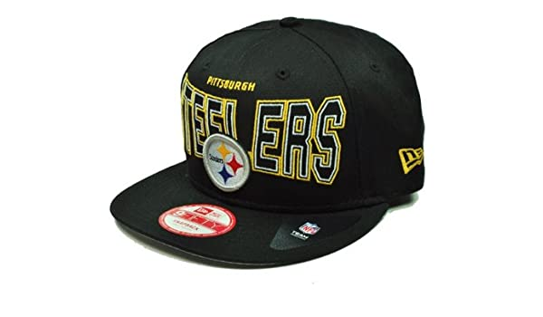 Amazon.com   New Era Outter Snapback Nfl Pittsburgh Steelers Hat Cap Size  S m   Sports   Outdoors 7644e56ed