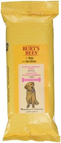Dog Grooming: Burt's Bees Hypoallergenic Wipes
