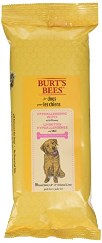 Burt's Bees for Dogs All Natural Hypoallergenic Wipes, 50 count