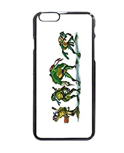 "Teenage Mutant Ninja Turtles Pattern Image Protective iphone 4 4s ("") Case Cover Hard Plastic Case For iphone 4 4s - Inches"