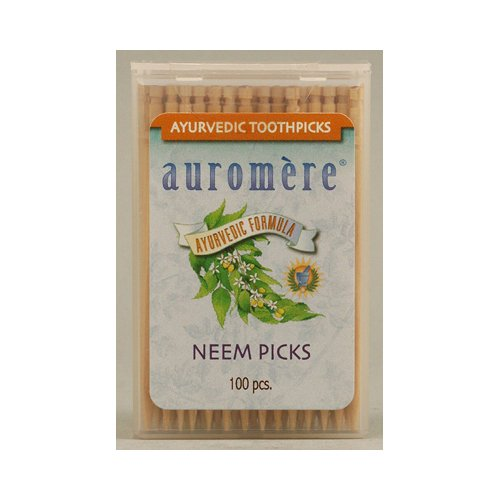 auromere-ayurvedic-neem-picks-100-toothpicks-case-of-12-auromere-oral-care-health-beauty