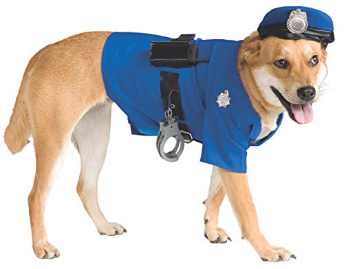 Rubie's Police Dog Pet Costume, Medium -