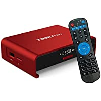 4K Android 6.0 TV Box,MaQue T95U Pro Red Mini Andriod Smart TV Box Amlogic S912 Octa-core 2GB 16GB Wifi 2.4GHz 5GHz Bluetooth 4.0 Blue Ray Internet & Game Player DTV Converter TV Box