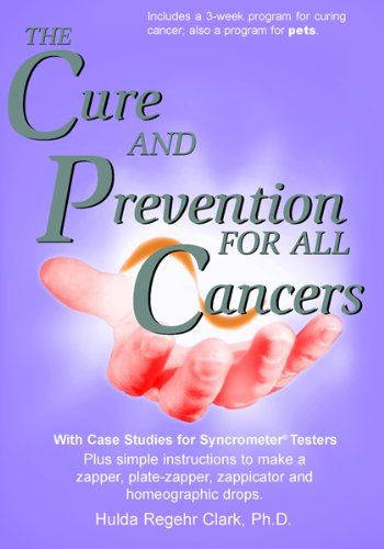 Amazon com: The Cure and Prevention of All Cancers eBook: Dr  Hulda