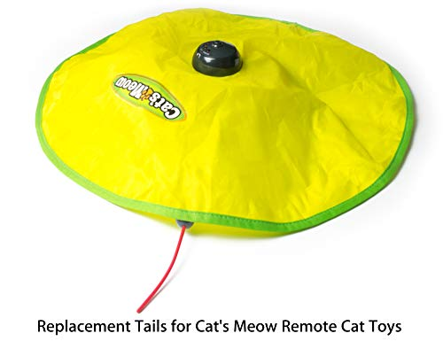 Aelop Replacement Wands for Cat's Meow Motorized Cat Toy, Electronic Motion Cat Toys Mouse Tail Refills, Pack of 3 3