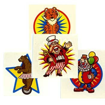 Fun Express Carnival Party Tattoos (72) ()