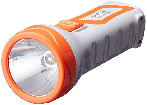 OnLite L1087C 1-Watt Rechargeable LED Torch (Color May Vary)