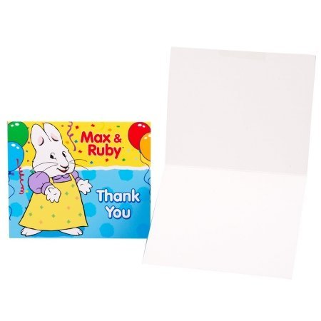 Max Costume Party City (party destination 204621 Max & Ruby Thank-You Notes)