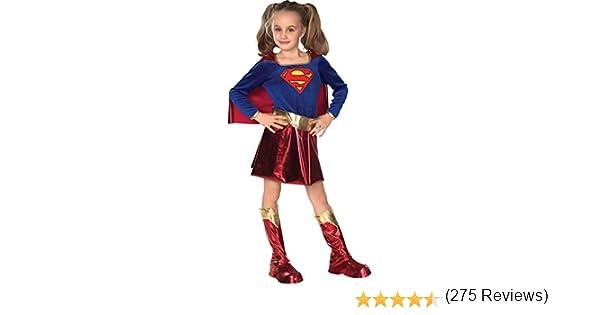Rubbies - Disfraz de Supergirl para niña, talla L (8-10 años ...