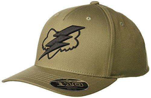 Fox Men's 110 Curved Bill Snapback Hat, Fatigue Green, OS from Fox