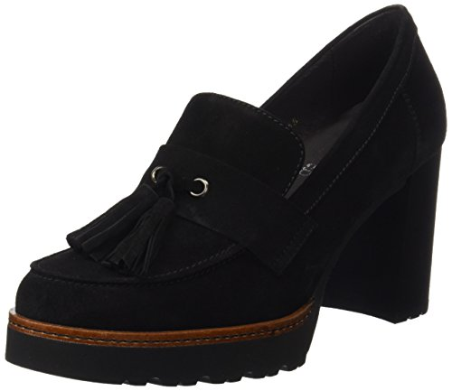 Black Closed Gadea Heels Toe Silk Women's FzwAX